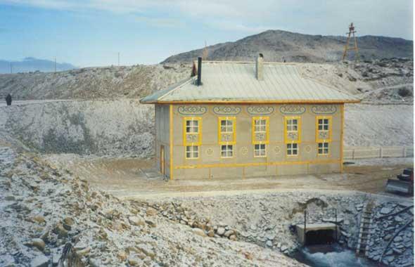Мини-ГЭС «Кызыл-Хая»