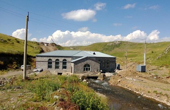 Малая ГЭС Воротан