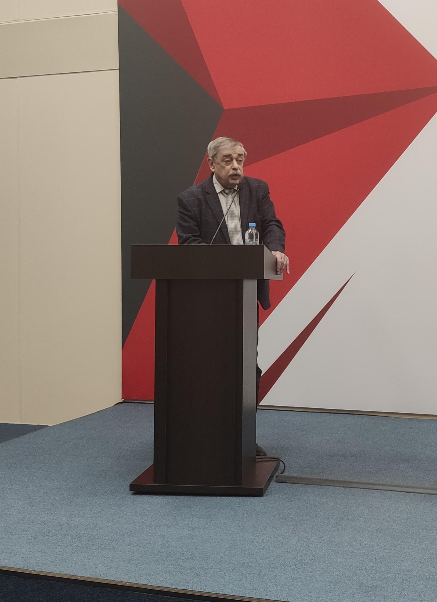 Выступление ИНСЭТ на РМЭФ-2021