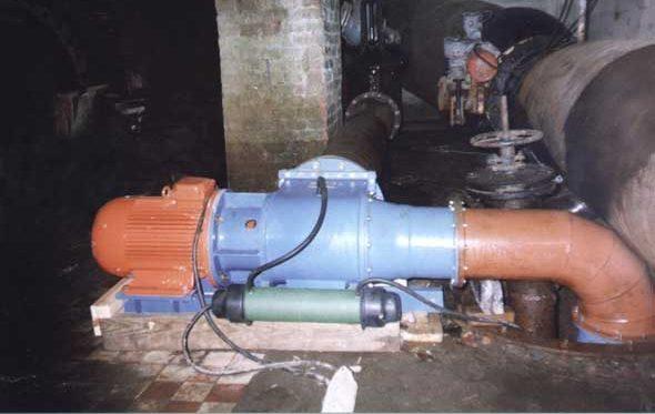 Гидроагрегат Микро-ГЭС-10Пр