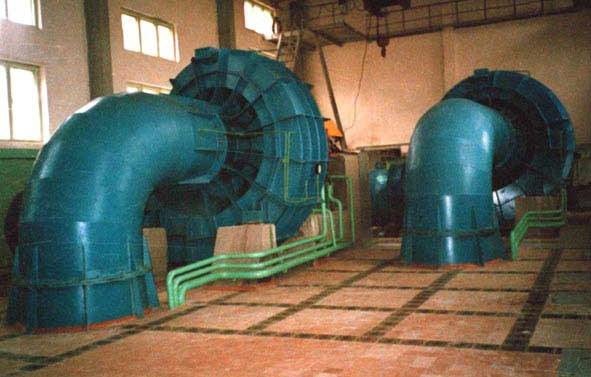 Пропеллерные турбины ГА-8
