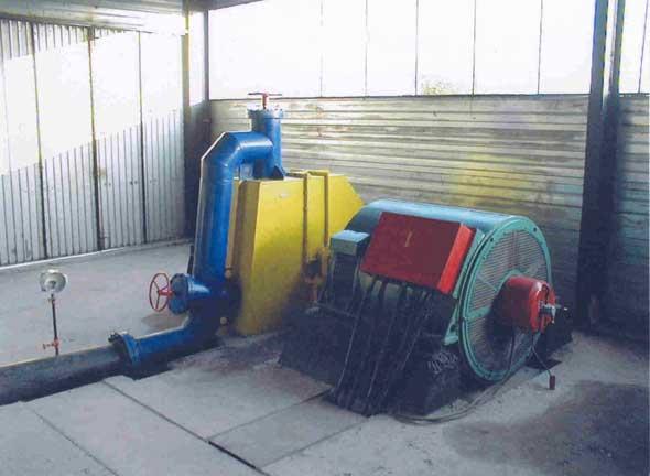 Ковшовая турбина ГА-5