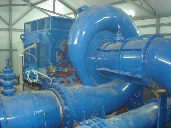 ГА-9, Гидроагрегат ГА-9, Аракульская малая ГЭС
