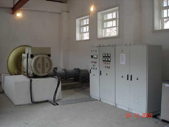 Минигидроэлектростанция Артуч