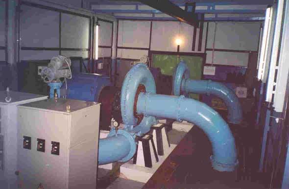 Гидроагрегаты ГА-2, мини-ГЭС Кайру