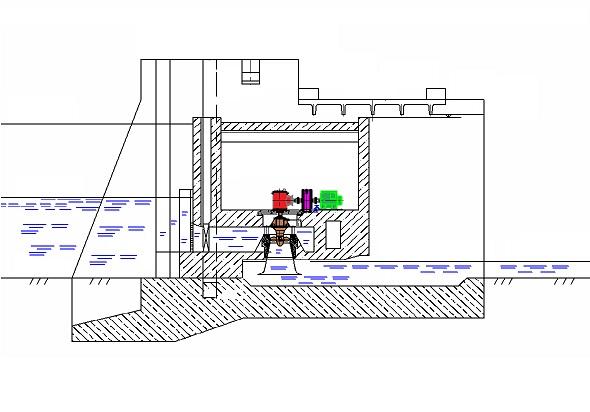 Схема Токмовской ГЭС
