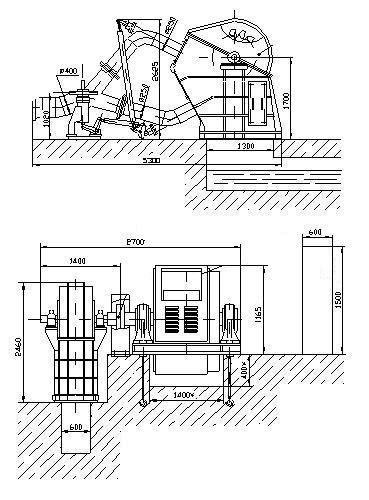 Схема гидроагрегата ГА-10