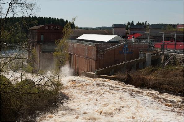 Малая ГЭС Ляскеля
