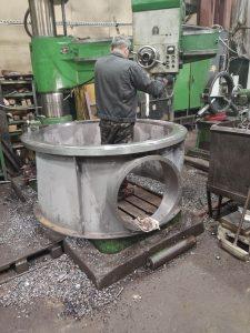 Изготовление пропеллерной турбины