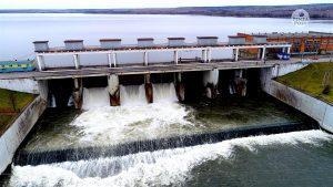 Плотина Сурского гидроузла