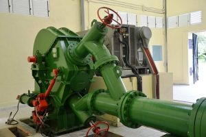 Гидроагрегат ГА-10 с турбиной Пелтона