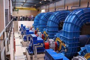 Турбины Каплана, малая ГЭС Ляскеля