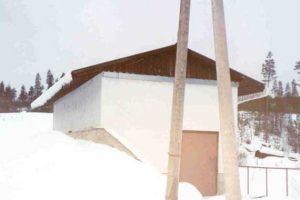 Здание мини ГЭС Киви-Койву