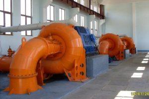 Гидротурбины Френсиса, малая ГЭС